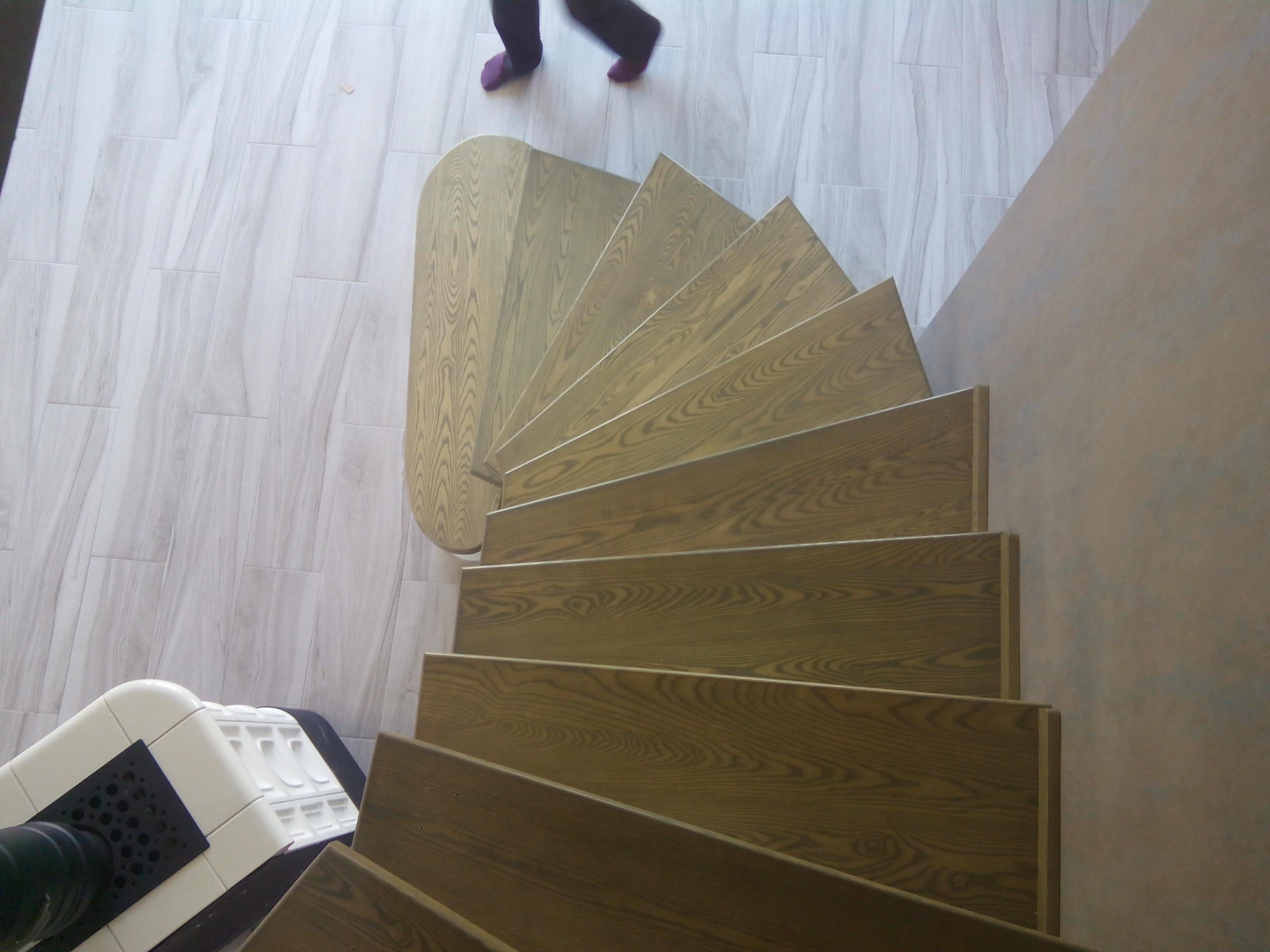 Лестница на бетоне